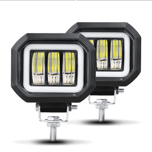 Image 2 - Светодиодная фара рабочего света 6D, 5 дюймов, 30 Вт, 12 В, 24 В, 6000 К