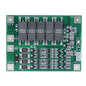 Баланс 4S 40A литий-ионный аккумулятор 18650 зарядное устройство PCB плата защиты BMS сбалансированная Зарядка для электродвигателя 14,8 V 16,8 V