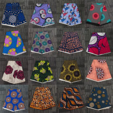 Chzimade-tela de cera Real Africana de Ankara para mujer tejido de poliéster con estampado de flores, tejido de costura para mujer, artesanías de retazos Diy