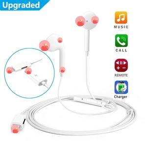 Image 3 - Kulak kablolu Bluetooth kulaklık mikrofon ile şarj spor kulaklık için iPhone 8 7 6 artı XS Max XR kulaklık kulaklıklar için