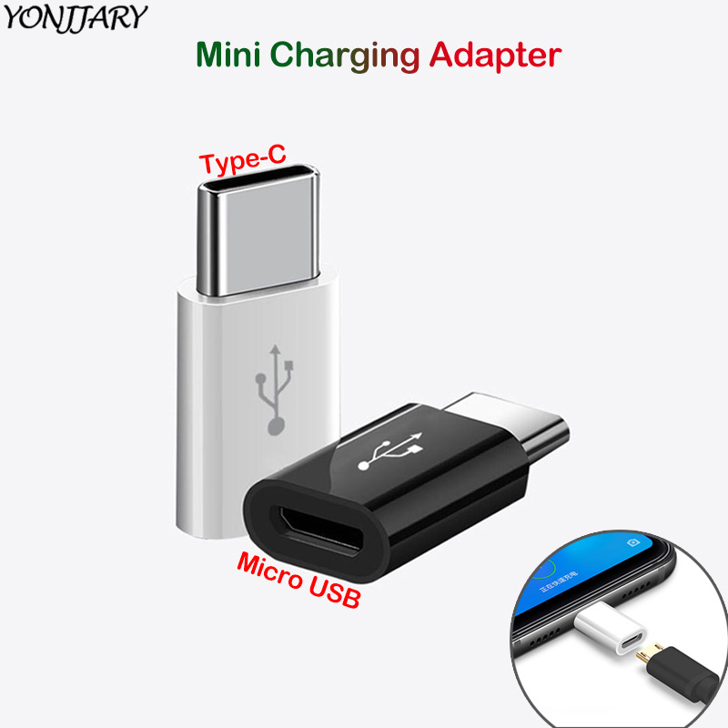 2Pcs Type C To Micro USB Charging Adapter For Huawei Honor USB-C OTG Converter For Samsung S10 Xiaomi Mi9 Redmi Note 8 Connector