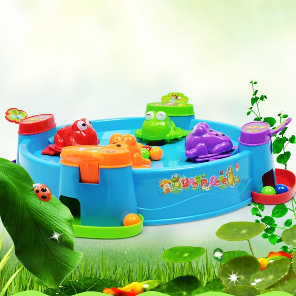 Children Frog Grabbing Beads Game Parent-child Interactive Desktop Puzzle Toy