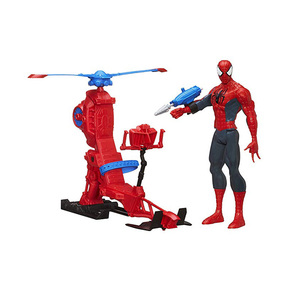 Image 2 - Marvel Legends 30cm Spiderman zestaw zabawek Titan Hero Series Copter figurka 11.8 cali prezenty na nowy rok zabawki dla chłopców
