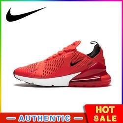 270 мужские кроссовки для бега, дышащие, на шнуровке, прочные, для бега, дизайнерские, спортивные, AH8050