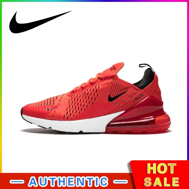 Nike Air Max 270 hommes chaussures de course en plein Air Sport respirant à lacets durables Jogging baskets marche concepteur athlétique AH8050