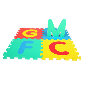 Image 5 - 26Pcs/set 30*30cm Cartoon English Alphabet Pattern Baby Crawling Mat Puzzle Toys For Kid EVA Foam Yoga Letter Mats Learning Toy