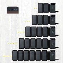 New Wireless Solar Power Bank Solar Charger External Battery