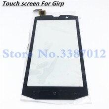 Сменный высококачественный дигитайзер сенсорного экрана для Vertex Impress Grip, внешнее стекло, панель объектива