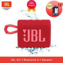 Jbl GO3 Draadloze Bluetooth 5.1 Speaker Gaan 3 Draagbare Waterdichte Luidspreker Outdoor Speakers Sport Bass Sound 5 Uur Batterij