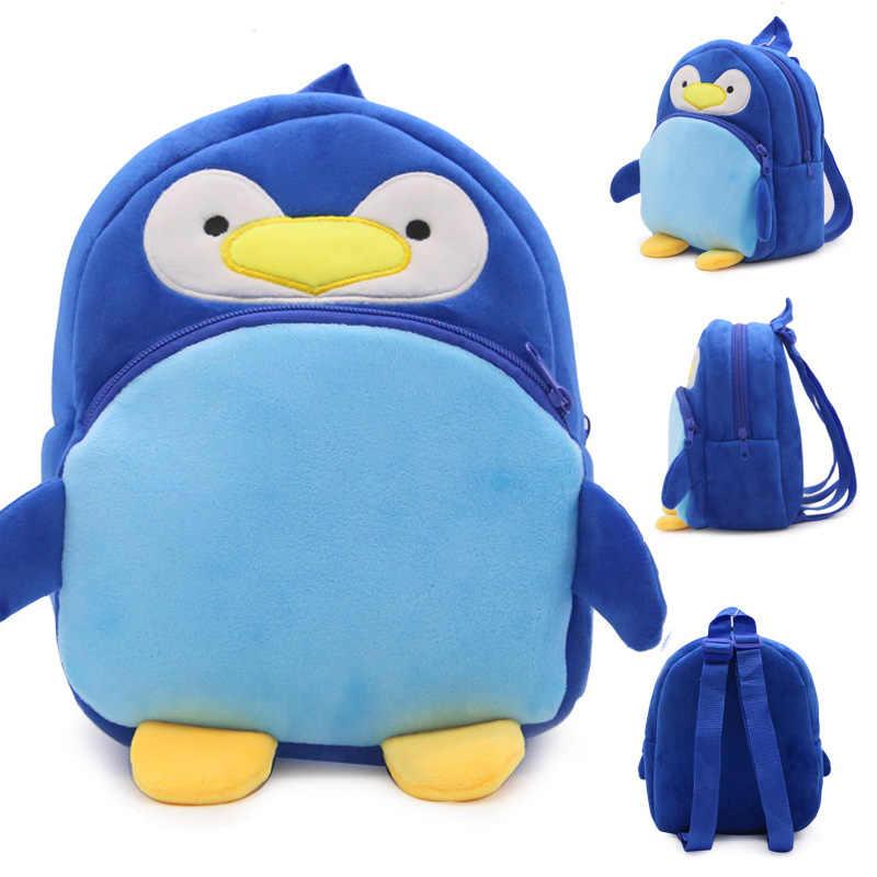 Nowe słodkie zwierzaki pszczoła dziecko pluszowe plecaki miękka zabawka Anime Marvels Anime torba dla dzieci chłopiec prezenty zabawki dla dzieci torby szkolne