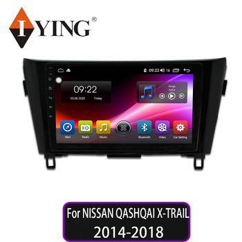 IYING Car Radio Multimedia DVD Video Player Navigation GPS Android10.0 8 core For NISSAN QASHQAI X-TRAIL 2014 2015 2016 2017 18 image
