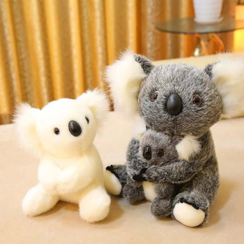 Cute Koala Bear Plush Toys For Baby Australian Koala Bear Stuffed Soft Doll  Adventure Koala Doll Birthday Christmas Gift 1pc 30cm sitting mother and baby koala plush toys stuffed koala dolls soft pillows kids toys good quality