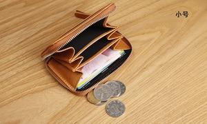 Image 4 - LANSPACE brieftasche karte halter echtes leder kreditkarte halter berühmte marke geldbörsen halter