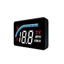 OBD شاشة عرض أمامية للسيارة عالية الدقة ، عداد السرعة ، أداة تشخيص السيارة ، إزالة رمز الخطأ ، إنذار السرعة الزائدة