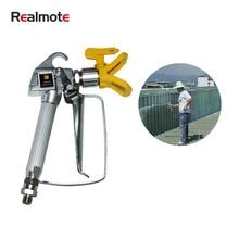 Realmate 3600PSI High Pressure Spray Gun Airless Latex Paint Spraying Equipment Mini Air Airbrush