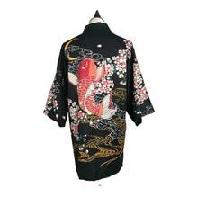 Kimono de satén japonés para mujer, kimono yukata vintage, disfraz de escenario actuación, bata tradicional, japonés, feliz bonito nuevo