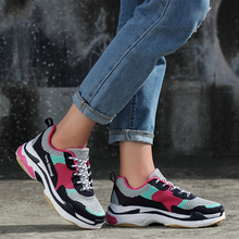 New High Quality Sneakers Women Breathable  Running Shoes Lightweight Athletic Mesh Sports Zapatillas Mujer Deportiva