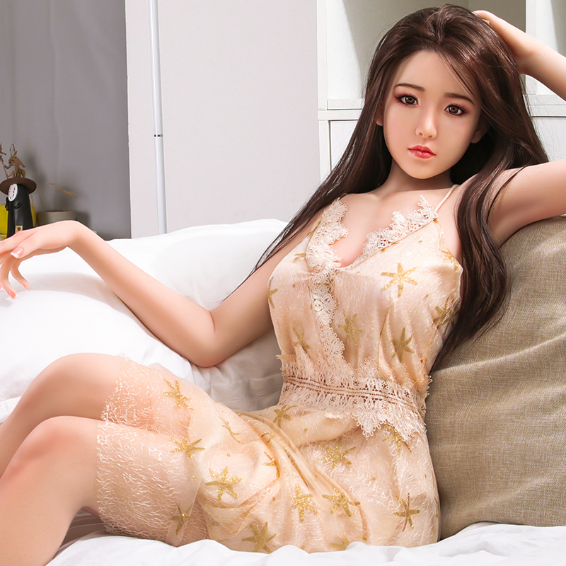 high quality Silicone <font><b>Sex</b></font> <font><b>Doll</b></font> <font><b>158cm</b></font> Love <font><b>Doll</b></font> Sexdoll Realistic Vagina Breast Lifelike Sexy <font><b>Japanese</b></font> Toys for Men sexdoll image