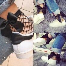 1 пара носков в сеточку для маленьких девочек, распродажа, винтажные короткие носки в сеточку с бантиком по щиколотку, модные летние носки