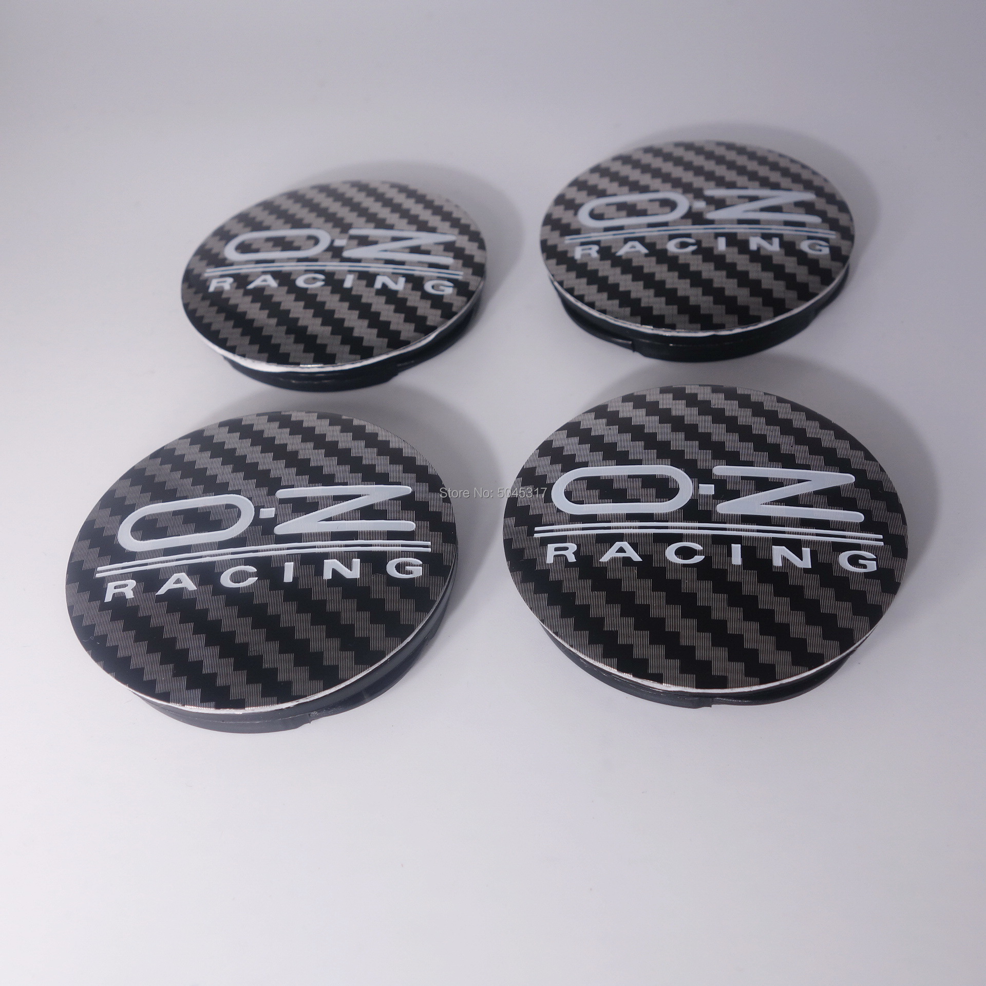 4 шт. 55 мм/52 мм для OZ Racing значок пустой хром Центральная втулка колеса автомобиля крышки обода крышка M582