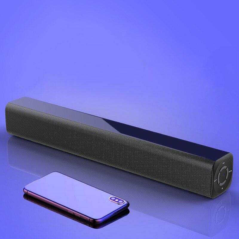 Chaude TTKK Portable 10W barre de son sans fil Bluetooth haut-parleur stéréo avec télécommande pour Home cinéma/TV/PC/téléphones/tablettes