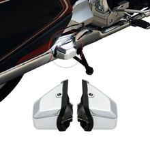 цена на Motorcycle Rear Saddlebag Guard Covers Protector For Honda Goldwing GL1800 GL 1800 2018-2020 2019