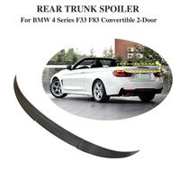 F32 spoiler Trunk Rear wing tail Carbon for bmw F33 F83 420i 428i 435i 440 Rear Spoiler Trunk wing tail convertible 2 door 13+