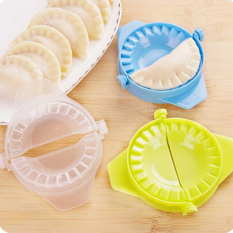 1/3Pcs พลาสติก Dumpling แม่พิมพ์อาหารจีน Jiaozi Maker Dough กด Dumpling พาย Ravioli แม่พิมพ์มือครัวสร้างสรรค์เครื่องมือ
