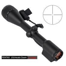 PENTAX 3-15X50 Electronic Zoom Scope Tactical Scopes 30MM Tube Sights 1/10 MIL Without Illumination Reticle For Rifle Gun PC