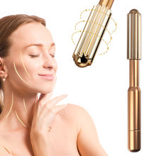 Facial Beauty Tool Facial Roller Massager T Vorm Facial Schoonheidsverzorging Trillingen Facial Schoonheid Massager Energie Vibrerende Bar