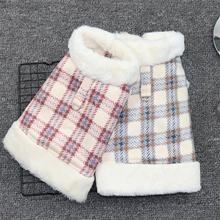 犬服ピンクブルー色 Xs xxl サイズスーパー暖かい子犬小型犬猫の服秋と冬 2 フィート小型犬服