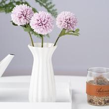 30cm kwiat mniszka plastikowe sztuczne kwiaty realistyczne sztuczne rośliny dekoracyjne kwiaty sztuczne dla domu wesele tanie tanio EP0033 other Kwiat Oddział Z tworzywa sztucznego Artificial Plants faux flowers Artificial Bouquet