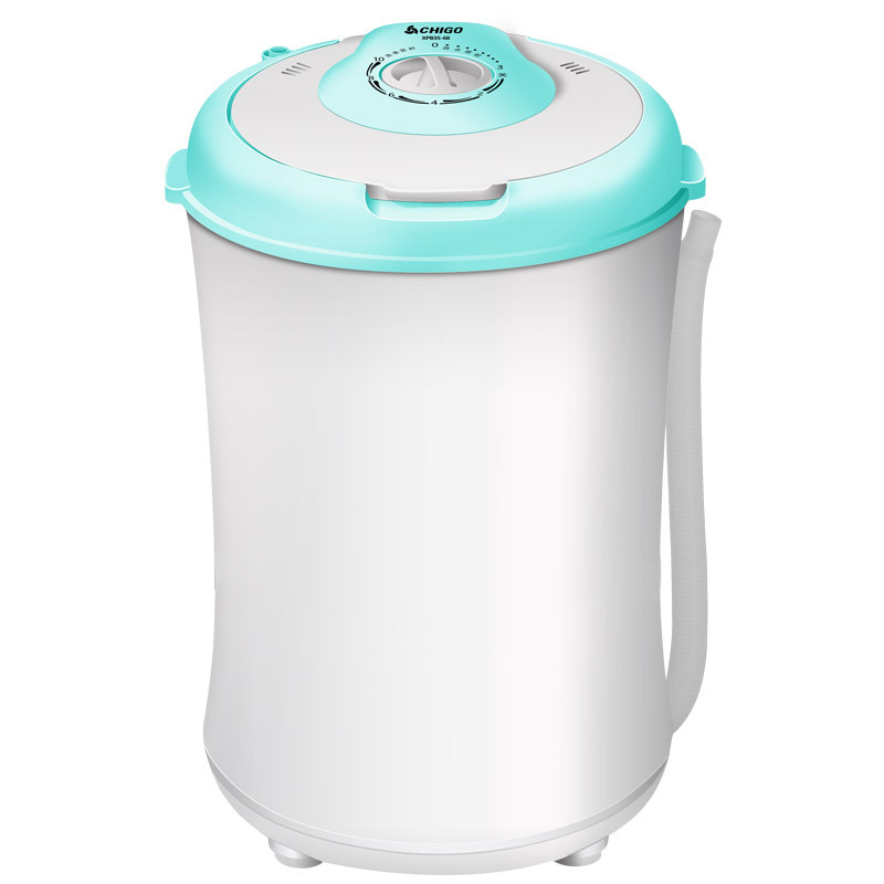240w power Mini washer can wash 3.5kg clothes+120w power 2kg dehydration tub top loading washer&dryer SEMI-AUTOMATIC WASHER image
