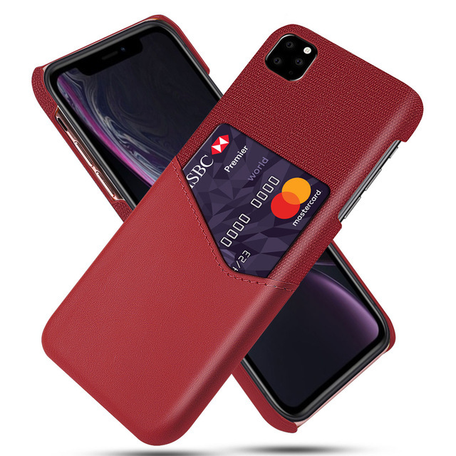 Shockproof Leather Card Holder Case for iPhone 11/11 Pro/11 Pro Max 5