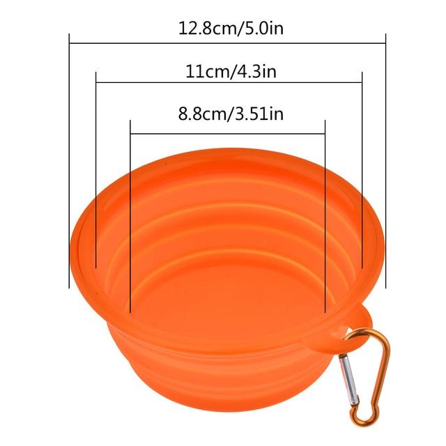 Foldable Portable Travel Bowl  3