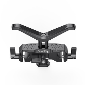 Image 3 - SmallRig עבור Dslr מצלמה Y בצורת סוגר עדשת 15mm LWS אוניברסלי עדשת תמיכה עם 15mm רוד קלאמפ תמיכה Rig   2680