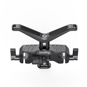 Image 3 - SmallRig para cámara Dslr lente de soporte en forma de Y 15mm LWS soporte de lente Universal con abrazadera de varilla de 15mm aparejo de soporte 2680
