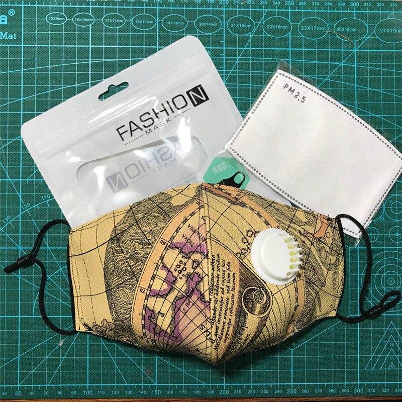 F.N.JACK Fashion Mask Mouth Mask Kawaii Camouflage Smoke Stream Punk Ga Masks Cotton Mask Mouth Bamboo Fiber Masks Mouth Muffle
