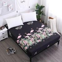 MECEROCK 2019 nuevo Protector de colchón cubiertas de colchón impermeables estampado popular cubierta de impresión para cama 160X200CM transpirable