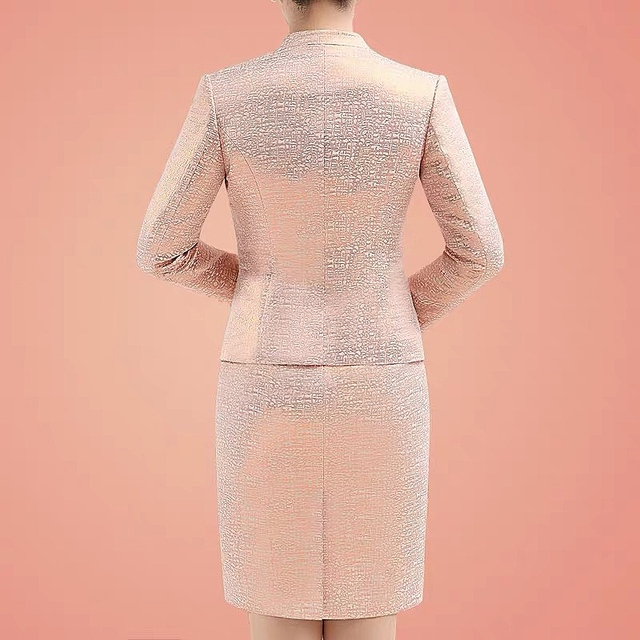 Lace Mother of the Bride Dress 2