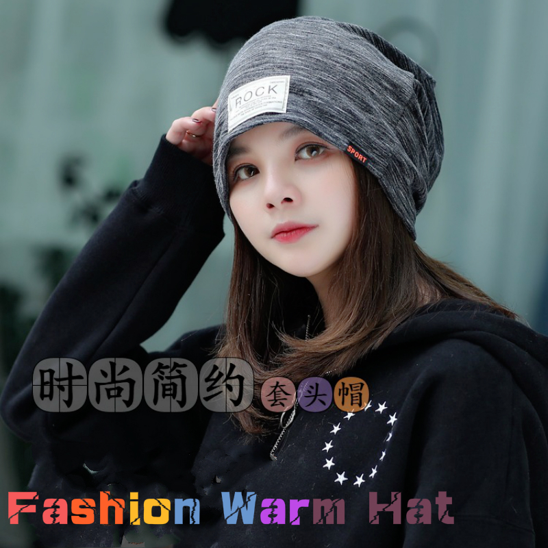 women hat Autumn Winter Double Thick Warm Caps Ear Protector Cap Winter Hats for Women   Beanie   Solid Color   Beanies   Hip-pop hats