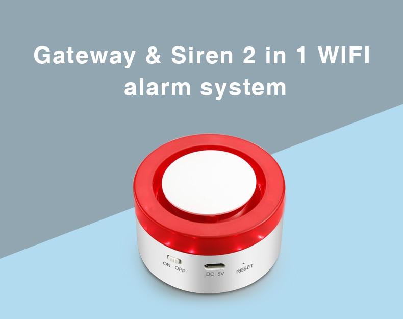 BE-H1 Gateway & Strobe Siren