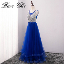 Evening Dresses 2018 Elegant Long Formal Party Prom Dress Robe De Soiree