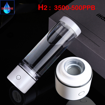 Portable Quantum Nano High Hydrogen Water Generator SPE&PEM Mini ORP Electrolysis Alkaline H2 Ionizer Cup Anti Aging Products high accuracy orp