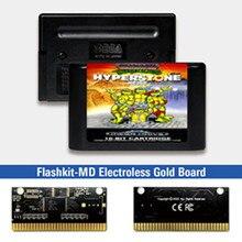 Turtles De Hyperstone Heist Eur Label Flashkit Md Kaart Voor Sega Genesis Megadrive Video Game Console