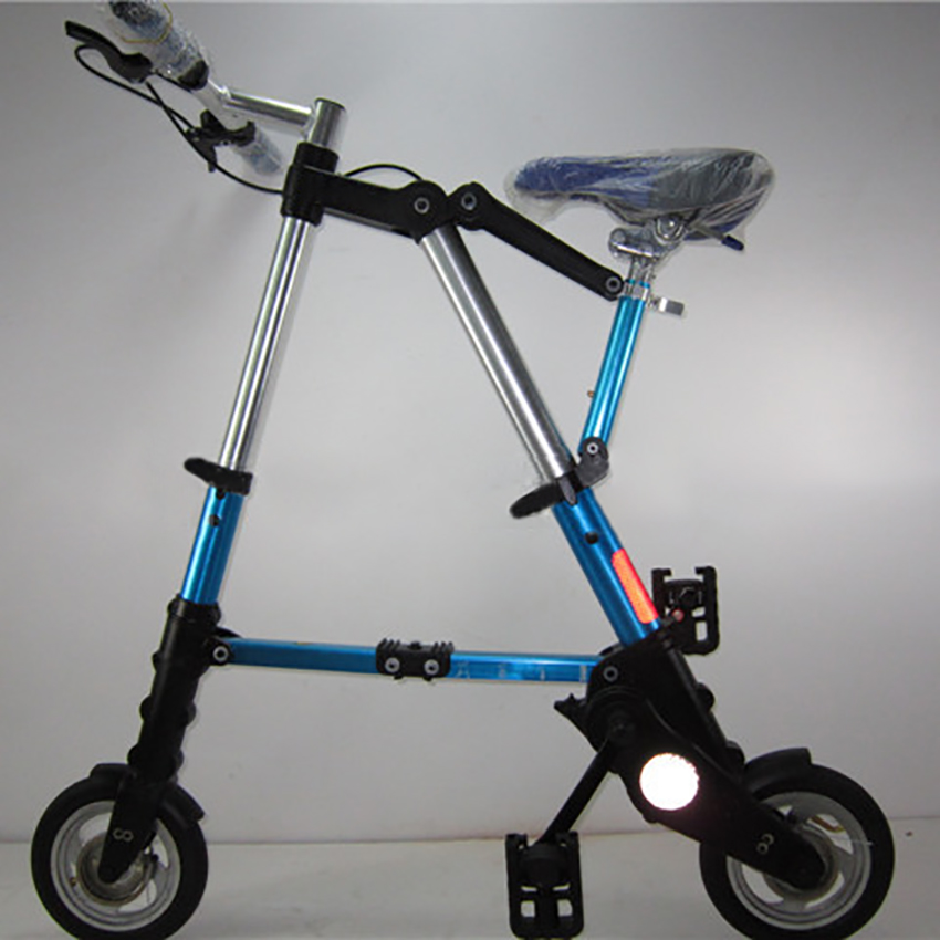 Multifunctional Mountain Bike Bicycle 8-inch Folding Bicycle Easy Folding Adult Men And Women-type Variable Speed Mountain Bike