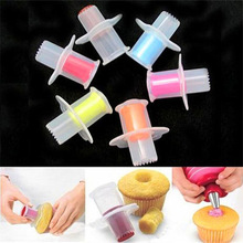 Cupcake Corer Pastry-Accessories Circle-Cutter Muffin Silicone Mold Baking Cake-Decorating-Tools