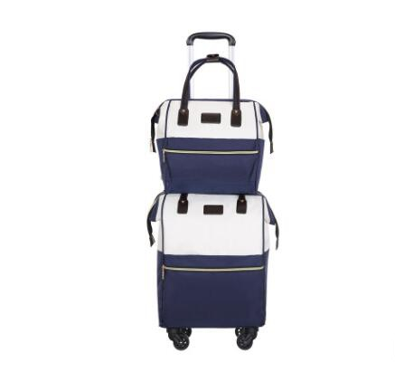 Travel Hand Luggage Bag Wheels Women Travel Rolling Suitcase Trolley Bag With Wheels Carry On Luggage Bag Wheeled Bag For Travel