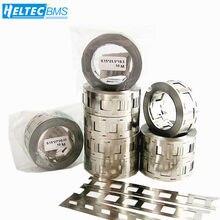 Tira de acero niquelado de alta calidad, 10M, doble batería de 18650 de potencia, lámina de conexión, banda de perforación de níquel