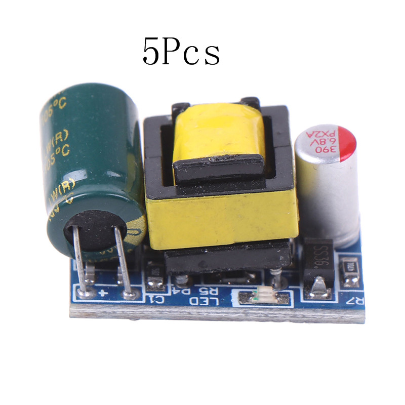 5PCS Hot New Mini AC-DC 110V 120V <font><b>220V</b></font> 230V <font><b>To</b></font> 5V <font><b>12V</b></font> Converter Board <font><b>Module</b></font> Power Supply Wholesale image